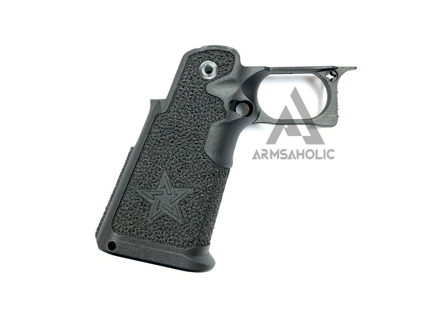 ArmsAholic Custom ST-style Lower Frame 00 For Marui HI-CAPA Airsoft GBB Black