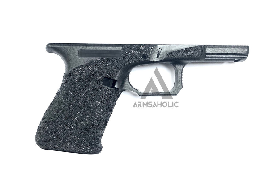 ArmsAholic Custom AGA-style Lower Frame for Marui G19 Airsoft GBB - Black