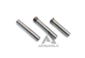 Guns Modify Hard Coat Steel Pins Control Set for TM/GM/UMAREX G18C Silver G-Series