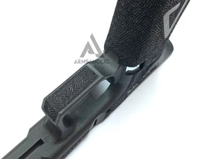 ArmsAholic Custom AGA-style Lower Frame for Marui G19 Airsoft GBB - Big Logo Black