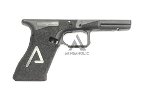 ArmsAholic Custom AGA-style Lower Frame for Marui 17 / 18C Airsoft GBB - Big Logo Version