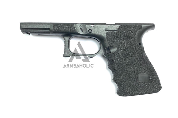 ArmsAholic Custom S-style Lower Frame for Marui G19 Airsoft GBB - Black