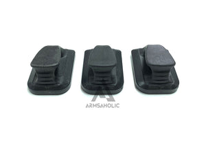 5KU Magazine Speedplate for Marui/KJ/WE G-Series (3Pcs) Black
