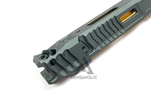 Nova CNC LK-UG style with Comp Slide Set for Marui G17/22/34 GBB Series - Titanium Grey