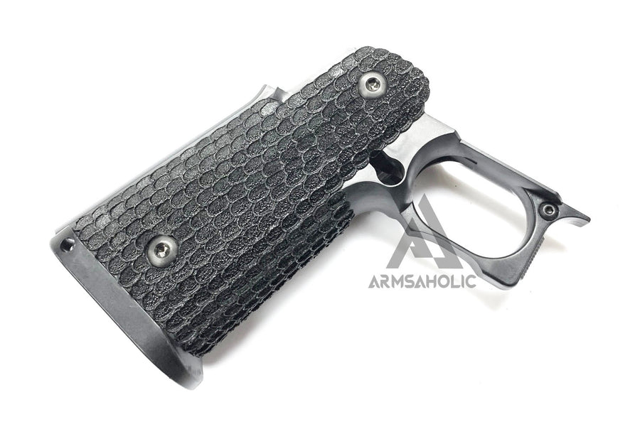 ArmsAholic Custom S-style Stippling Lower Frame A For Marui HI-CAPA Airsoft GBB