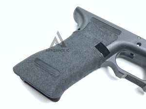 Armsaholic Custom S-style Lower Frame For Marui 17 / 18C Airsoft GBB Black (Finger Glove Remove)