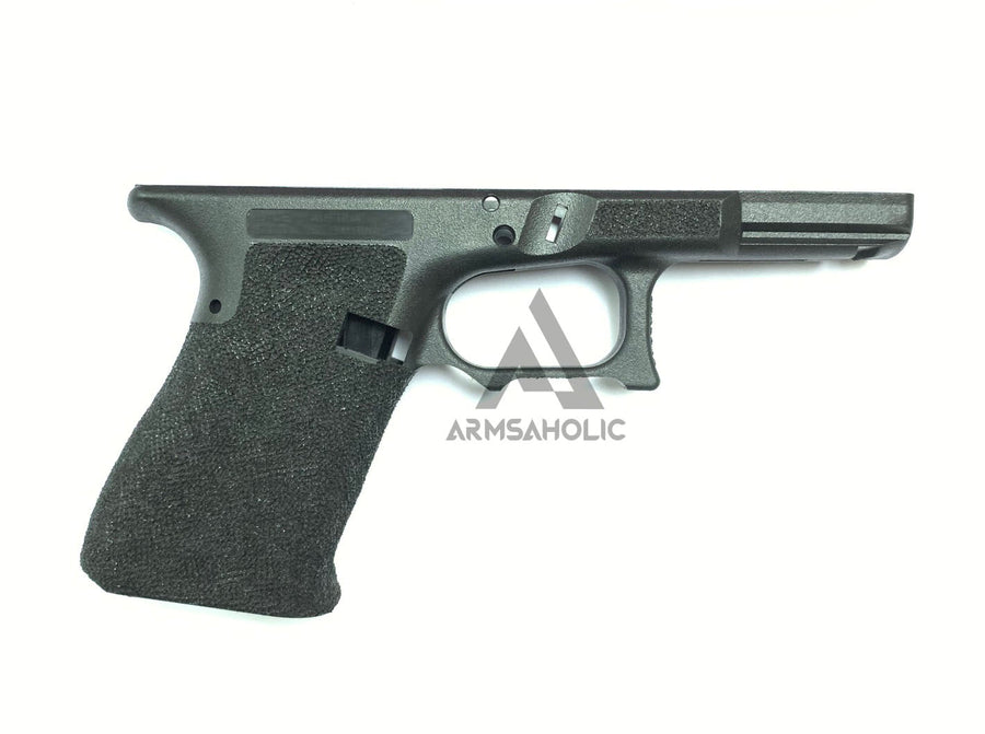 ArmsAholic Custom S-style Lower Frame 01 for Marui G19 Airsoft GBB - Black