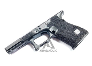 Armsaholic Custom FI-style Lower Frame For Marui G19 Airsoft GBB - Black