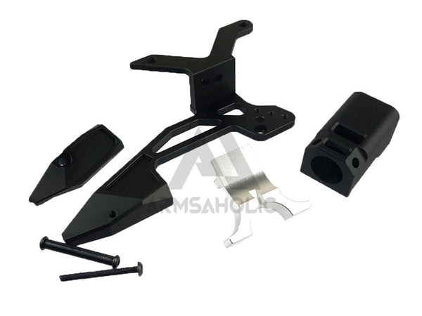 KUNG FU Airsoft Tac Mount Kit Set for Tokyo Marui / Bell G17 #KF17-001A