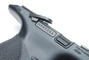 Guarder Series Number Tag w/ Teflon Coating for MARUI M&P9 (Black)