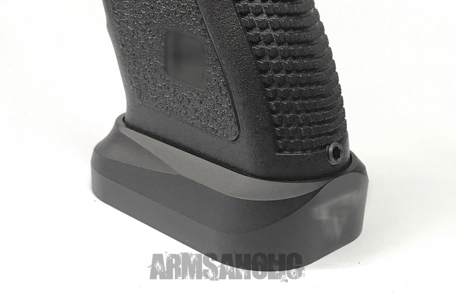 Nova T-Style Magazine Magwell for Marui G17/18/34 GBB Series - Black