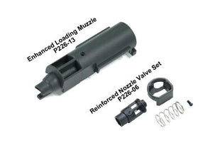 Guarder Enhanced Piston Head Set w/ 90° PU hardness Bucking for TOKYO MARUI / KJ P226 #P226-19