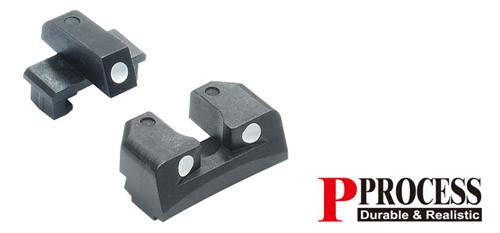 Guarder Steel Sight Set for MARUI P226 #P226-32