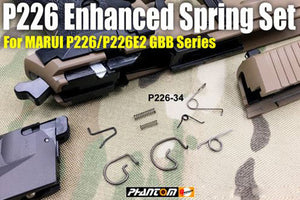 Guarder Enhanced Spring Set for Tokyo Marui  KJ WE P226 / E2 series #P226-34