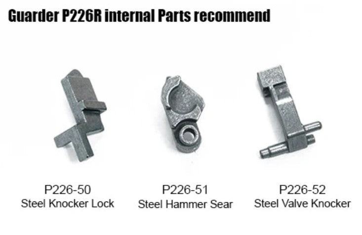 Guarder Steel Valve Knocker For MARUI P226R #P226-52