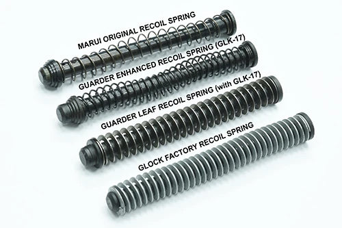 Guarder 110mm Steel Leaf Recoil Spring For Guarder G17/18C, M&P9 Recoil Guide Rod #PS-110