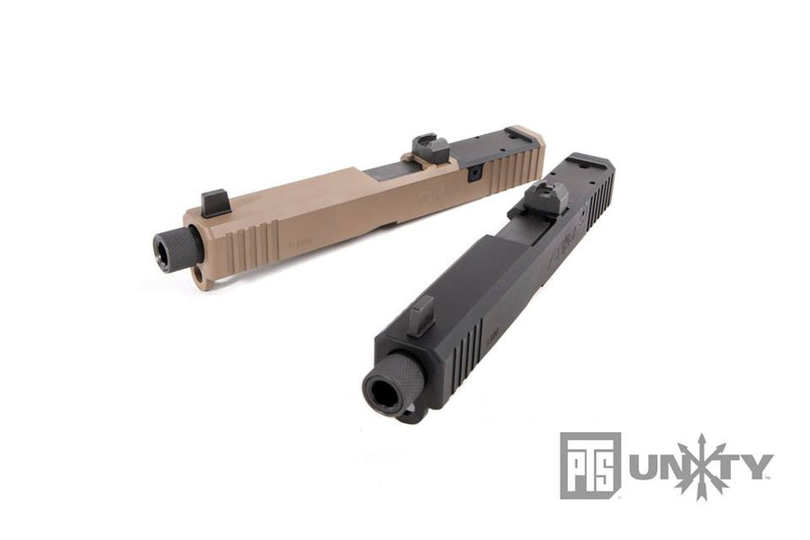 PTS Unity Tactical - ATOM Slide Set for Marui G17 Airsoft GBB series - Cerakote FDE