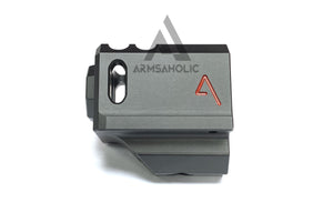 RWA Agency Arms 417 Compensator (14mm CCW) (Black) w/ ArmsAholic Custom Red Logo