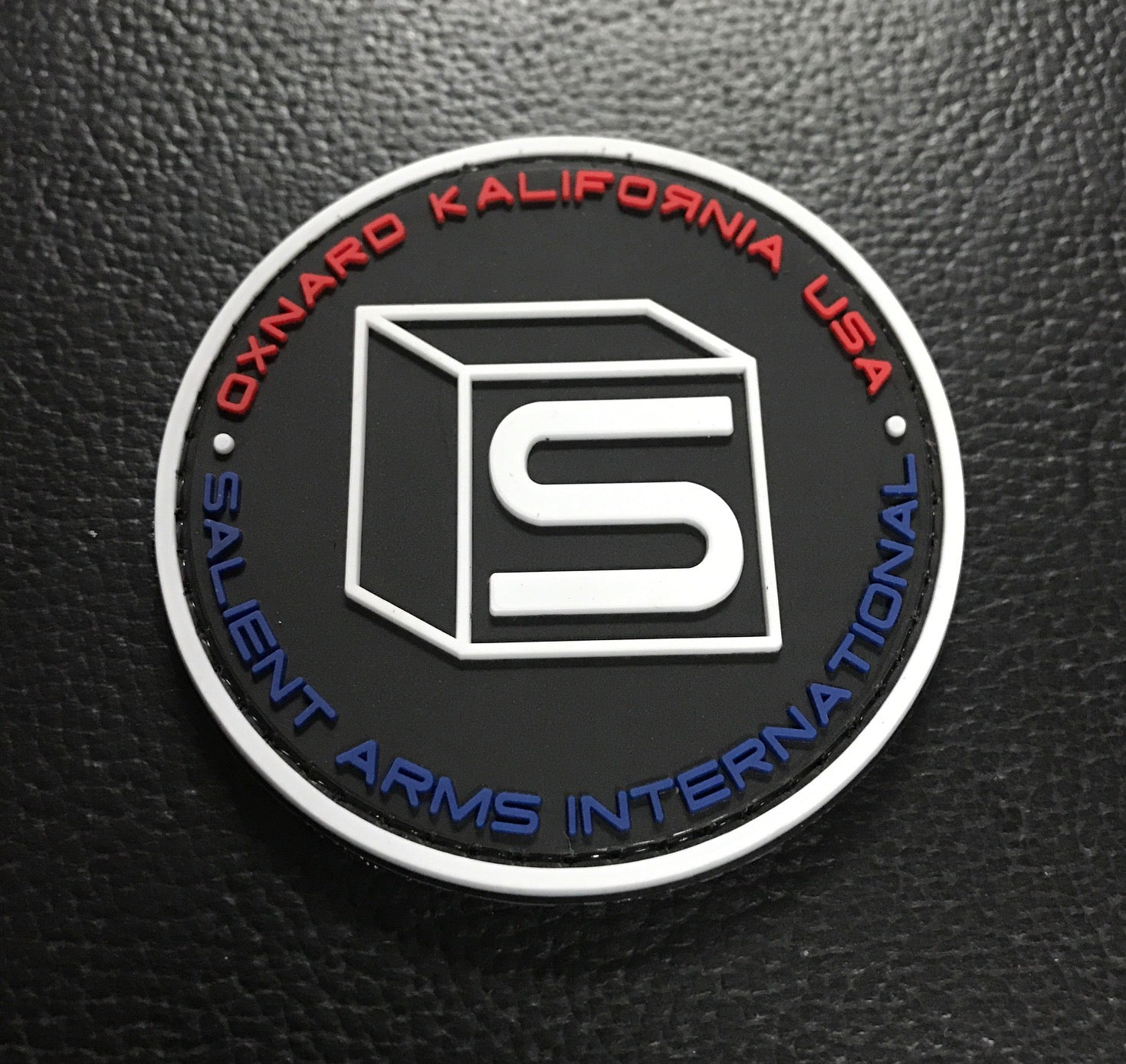 2deb609bb723 Salient Arms International (SAI) Logo PVC Hook and Loop Morale Patch