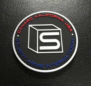 Salient Arms International (SAI) Logo PVC Hook and Loop Morale Patch