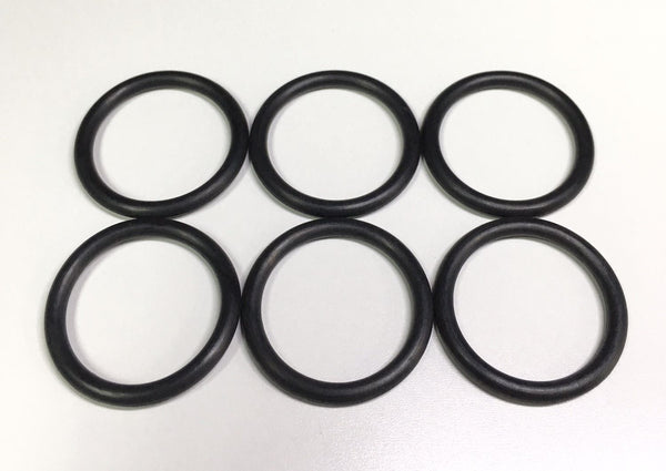 SHS Large O-Ring Set for Airsoft Cylinder Head (6pcs, 19x2.5mm)