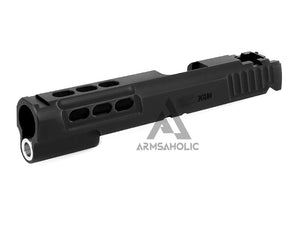 Airsoft Masterpiece STI DVC 3Gun Standard Slide for Hi-CAPA/1911 (Black)