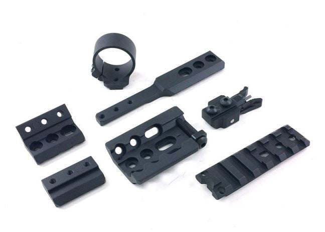 Unity Tactical FUSION Mounting System (Black) #UT01149B