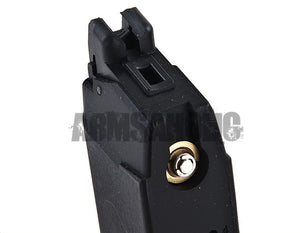 WE 25rd Full Metal Gas Magazine for G17 GBB (Black) Tactical Airsoft