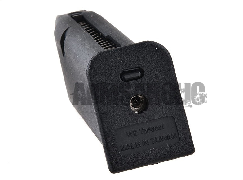 WE 25rd Full Metal Gas Magazine for G17 GBB (Black) Airsoft