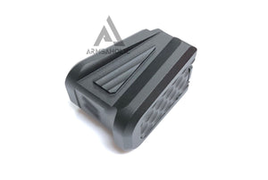 Aluminum Magazine Base Pad for Glock Black 5KU GB-445