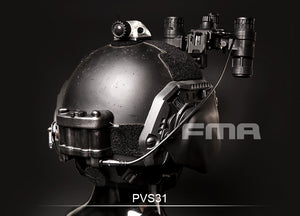 FMA PVS 31 Night Vision Goggles Dummy set-Black