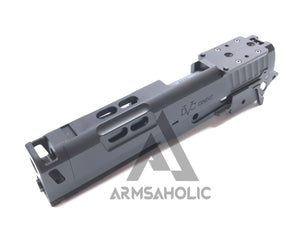 Gunsmith Bros CNC Aluminum STI OMNI Comp kit set for Tokyo Marui Hi-capa 5.1 Airsoft GBB Series