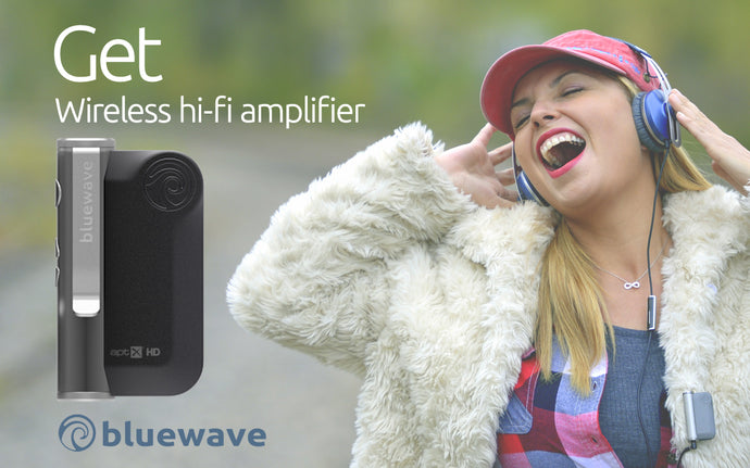 Get Wireless HiFi Headphone Amplifier form Bluewave