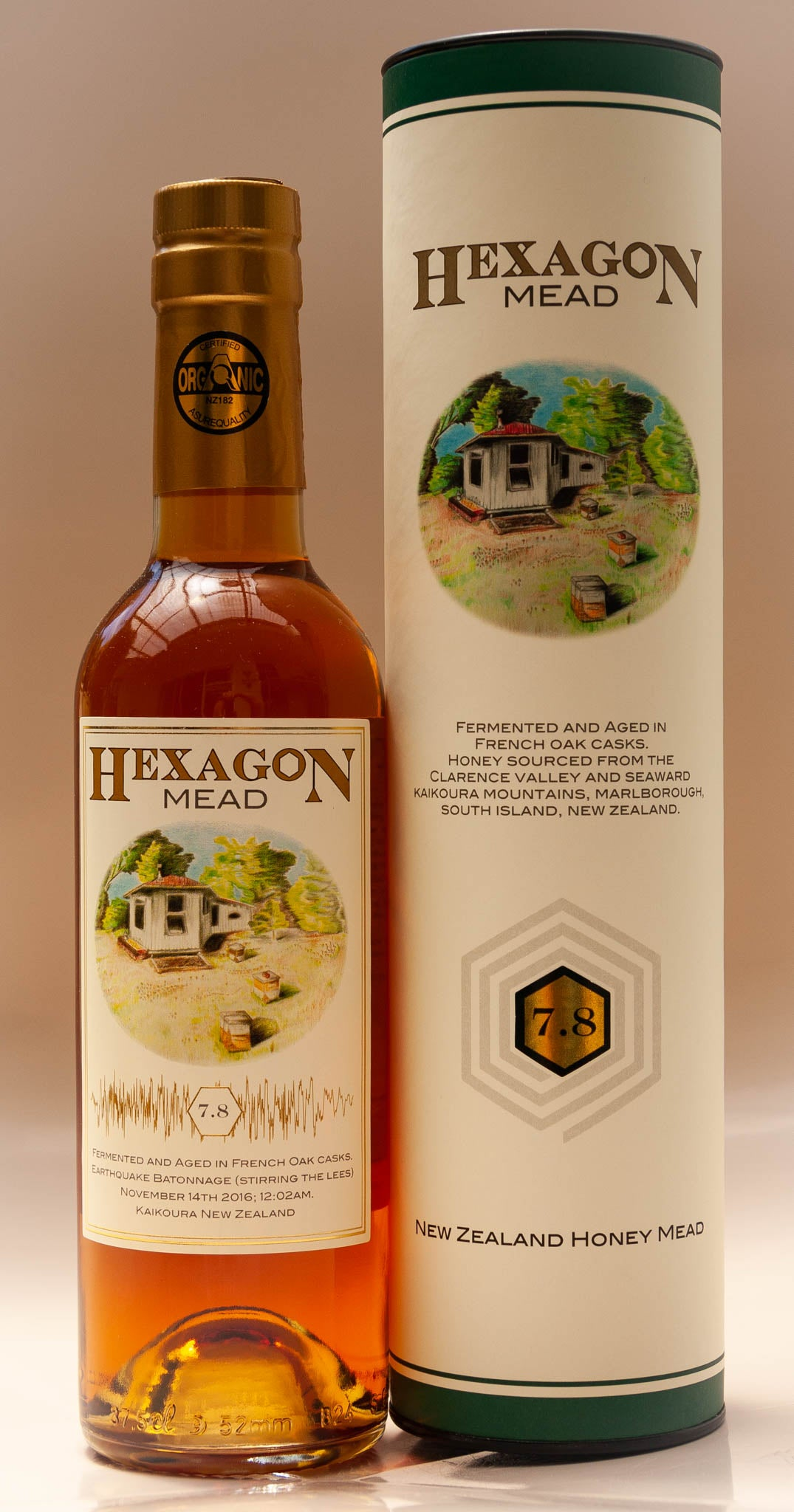 Earthquake Batonnage Mead 2016 - Certified Organic - Limited Edition