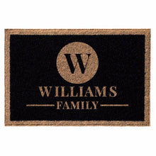 Infinity Custom all weather custom black door mat