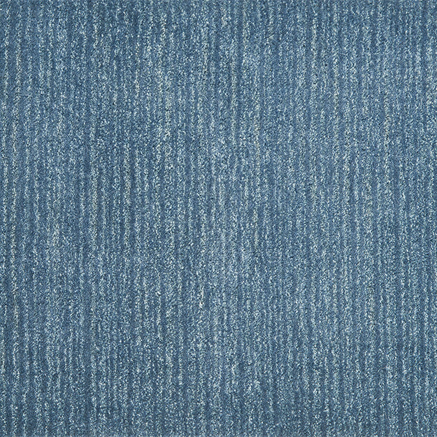 Allegra Hand-Loomed Wool Blend Custom Rug - Indigo