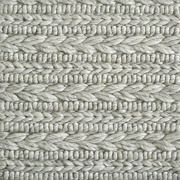 Coventry Cord Hand-Loomed Wool Blend Custom Rug - Heather