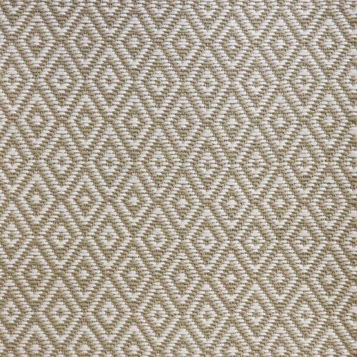 High-Performance All-Weather Indoor/Outdoor Custom Rug with UV Resistant Standard Edge Finish - Etna Barcelona Beige