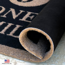 Infinity Custom Mats™ All-Weather HOME Door Mat - STYLE: DACHSHUND HOME COLOR:BLACK