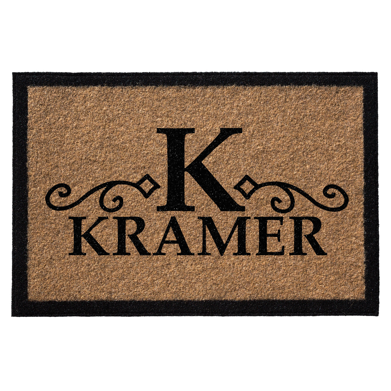 infinity custom mats all weather personalized door mat style