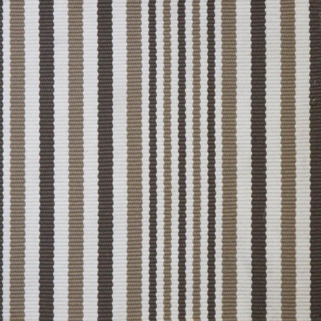 High-Performance All-Weather Indoor/Outdoor Custom Rug with UV Resistant Standard Edge Finish - Kyle Weatherly Beige