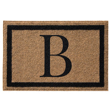 Infinity Custom Mats™ All-Weather Personalized Door Mat - STYLE: FARMHOUSE MONOGRAM COLOR:TAN