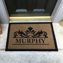 Infinity Custom Mats™ All-Weather Personalized Door Mat - STYLE: MURPHY COLOR:TAN