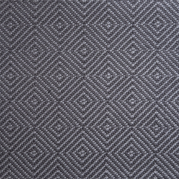 Nexus Quadrangle Hand Loomed Custom Rug - Titanium