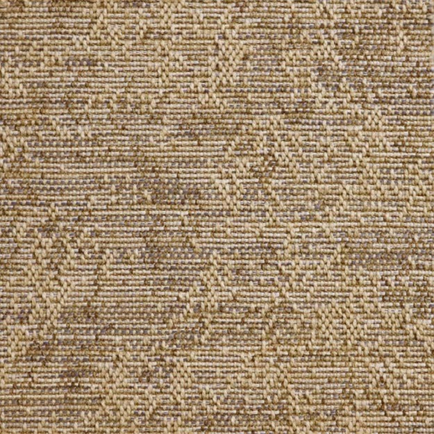 High-Performance All-Weather Indoor/Outdoor Custom Rug with UV Resistant Standard Edge Finish - Portico Waves of Grain