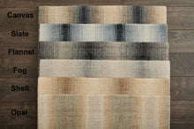 Privee Prisma Hand-Loomed Wool Blend Custom Rug - Shell