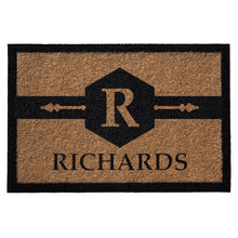 Infinity Custom Mats™ All-Weather Personalized Door Mat - STYLE: RICHARDS COLOR:TAN