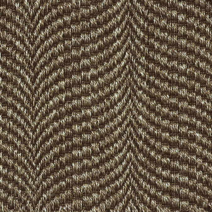 Fibreworks® Custom 100% Sisal Rug with Matching Serged Border or Other Border Options - Mermaid Sea Silver 350