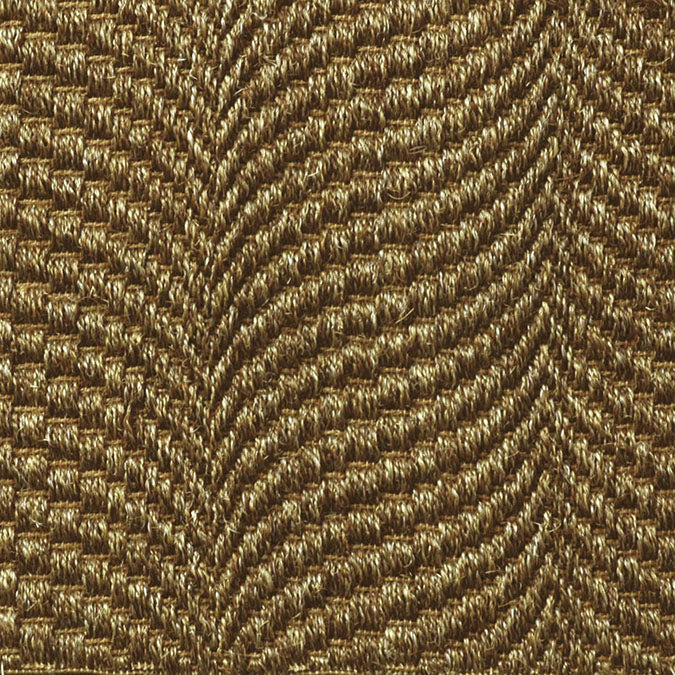 Fibreworks® Custom 100% Sisal Rug with Matching Serged Border or Other Border Options - Mermaid Oyster 352