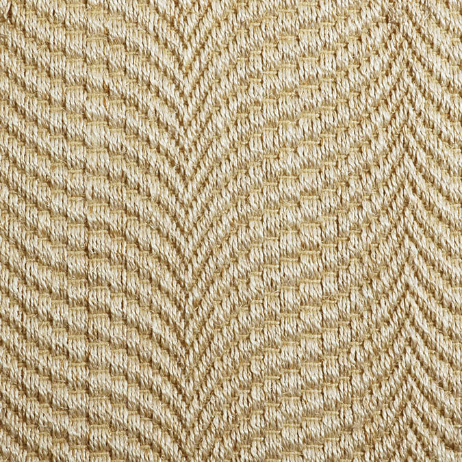 Fibreworks® Custom 100% Sisal Rug with Matching Serged Border or Other Border Options - Mermaid Sea Shell 356